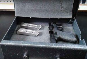 AMSEC PS1210HD Handgun Safe Inside