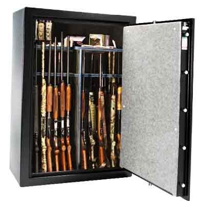 Liberty Fat Boy Jr 48 Gun Safe Open American-made gun safe