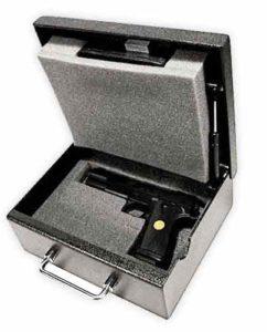 Stealth Original Handgun Safe Opened