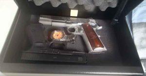 V-Line Brute Handgun Safe Interior